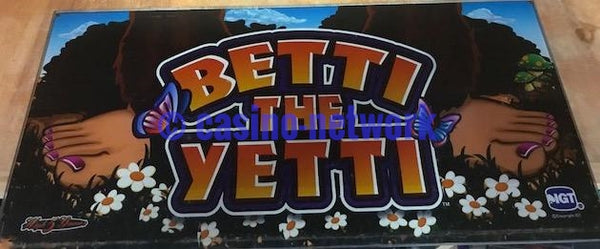 "IGT 19"" I Game Betti the Yetti Belly Glass"
