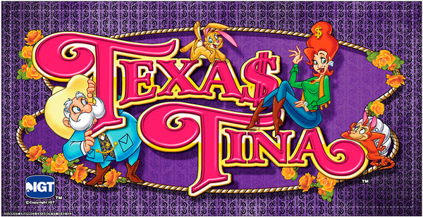 "IGT I Game 17"" Texas Tina Belly Glass CA124670"