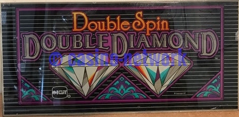 IGT Double Spin Double Diamond Belly Glass