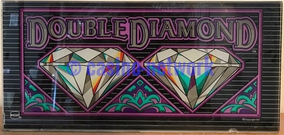 "IGT  S-2000 19"" Double Diamond Belly Glass"
