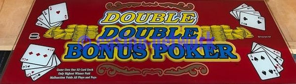 IGT I Game Double Double Bonus Poker Slant top glass