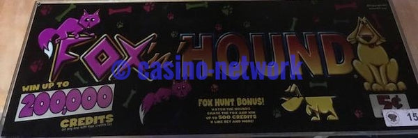 "IGT I Game Fox & Hound 17"" Chop Top"