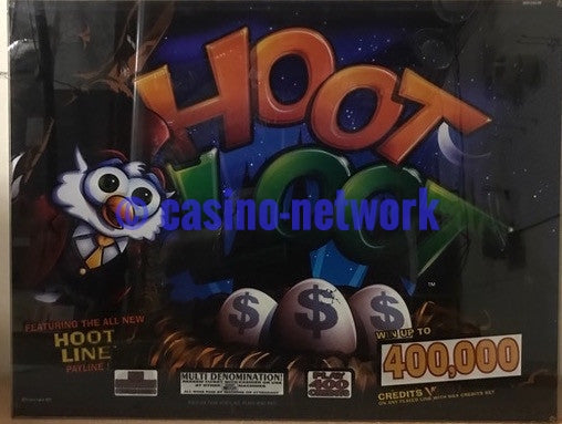 "IGT Hoot Loot 19"" Top Glass"