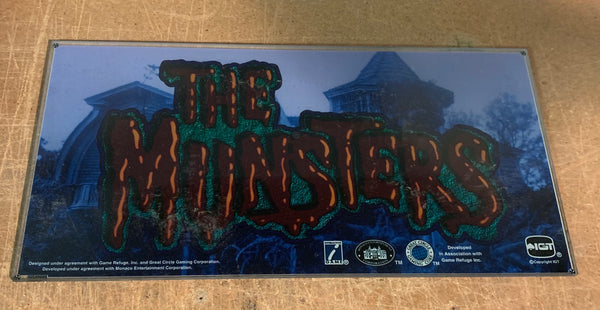 IGT I-Game (Purple) The Munsters 17 Inch Belly glass