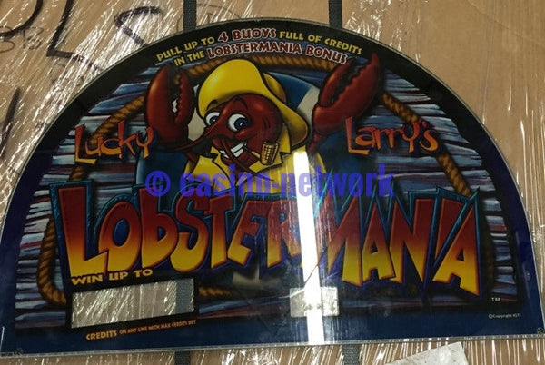 IGT I Game 17 inch Round Top Glass Lucky Larry Lobster Mania