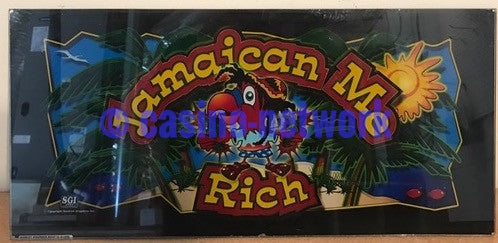 IGT Jamaican Me Rich Belly Glass