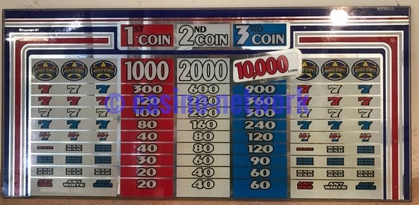 IGT Red White & Blue 3 Coin