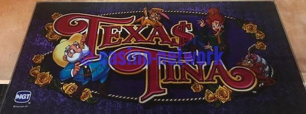 "IGT I Game 19"" Texas Tina Belly Glass"