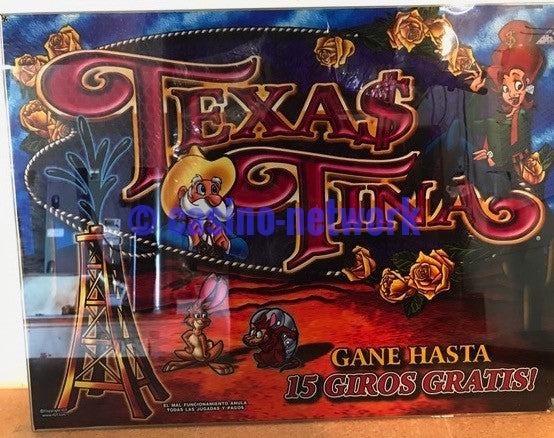 "IGT Texas Tina 16"" Glass"