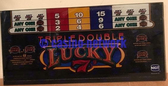 IGT Triple double Lucky 7s