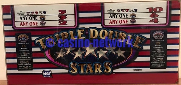 IGT Triple Double Stars Belly glass