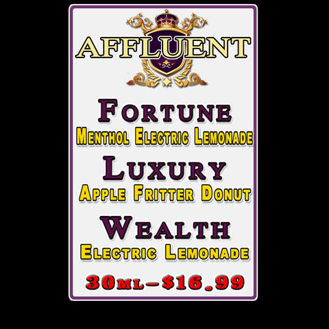 AFFLUENT E-JUICE
