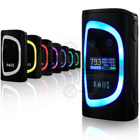 Kaos Spectrum 230W Temperature Control Box Mod by Sigelei