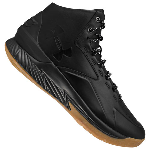 UNDER ARMOUR SNEAKERS DA BASKET UOMO BLACK