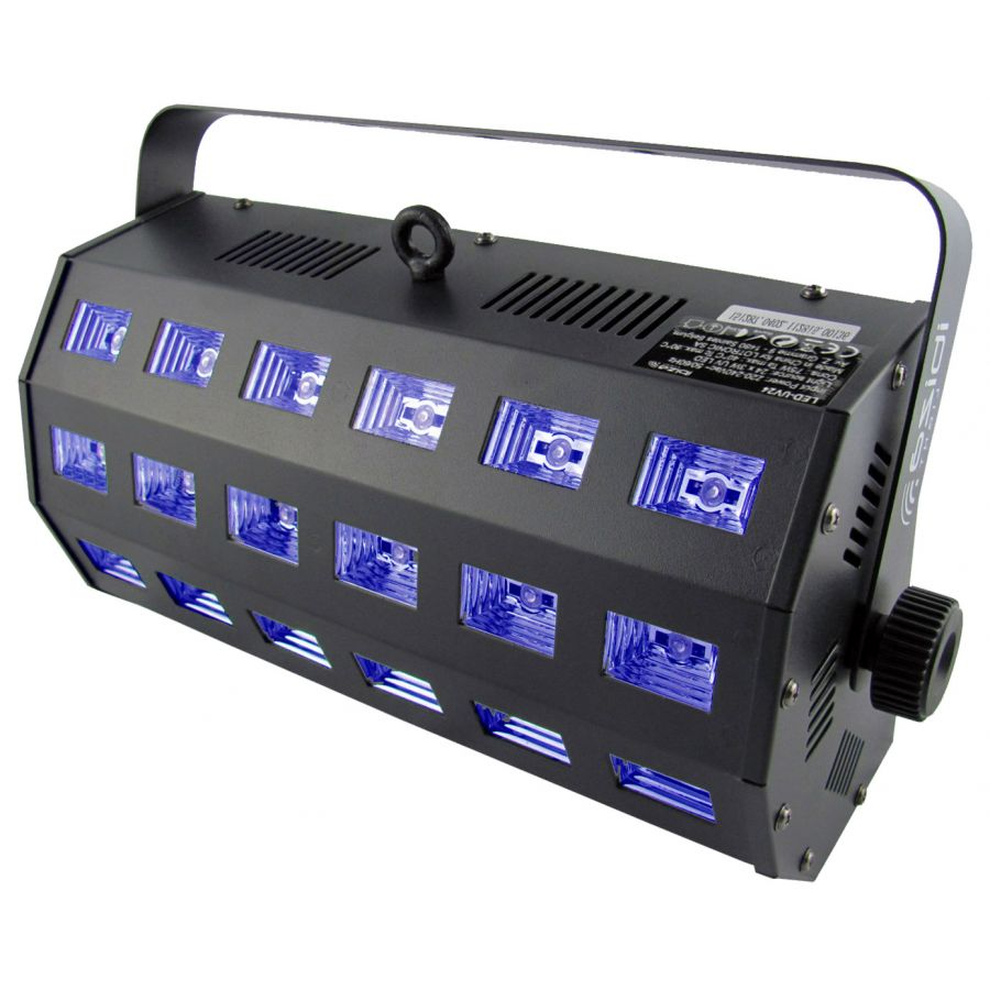 Ibiza UV LED 24 x 3 Watt
