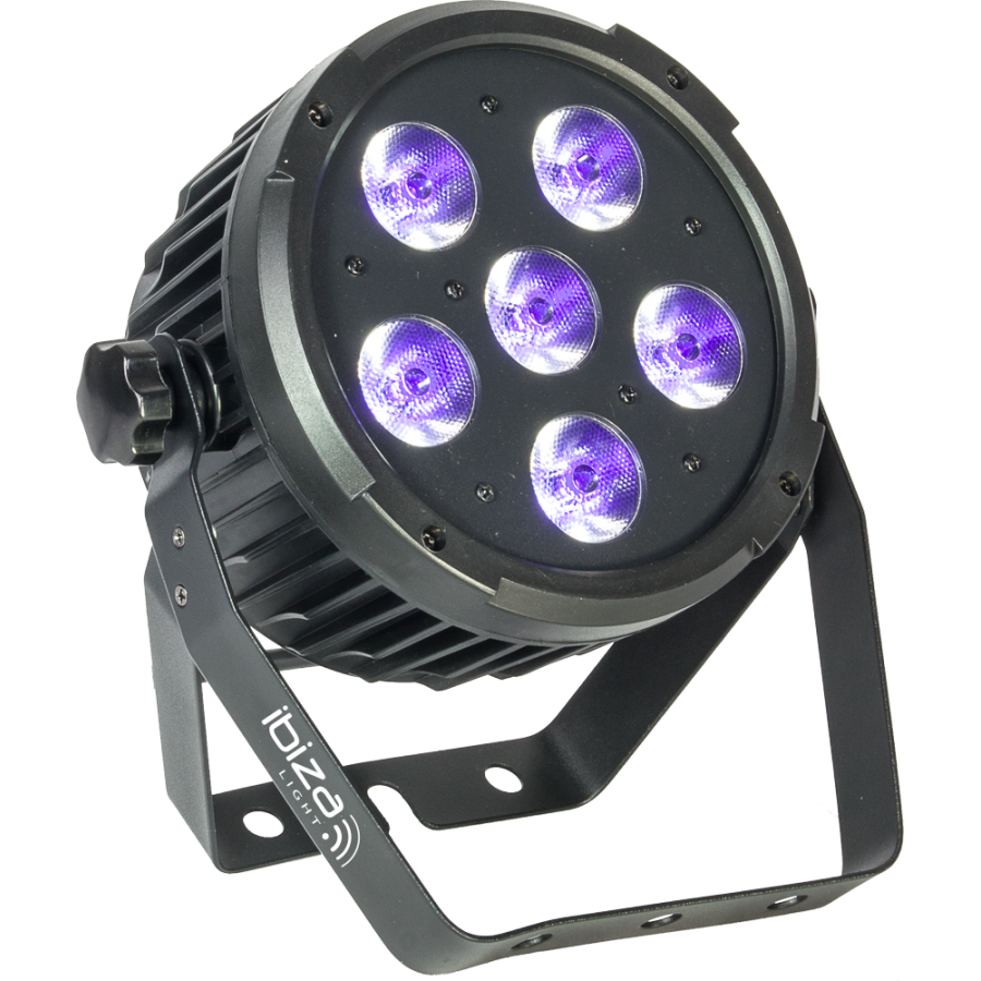 Ibiza LED UV lampe 6 x 6 watt