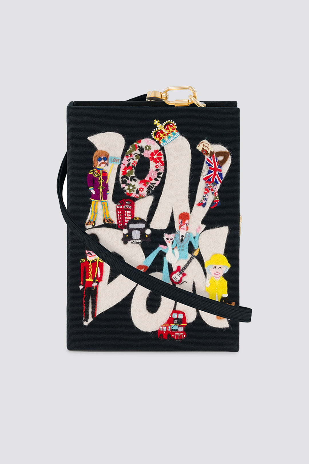 Olympia Le-Tan x Racil London clutch with strap <br>pre-order