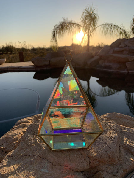The Beth - Geometric Sun Catcher/Terrarium - Pour Gal Studios
