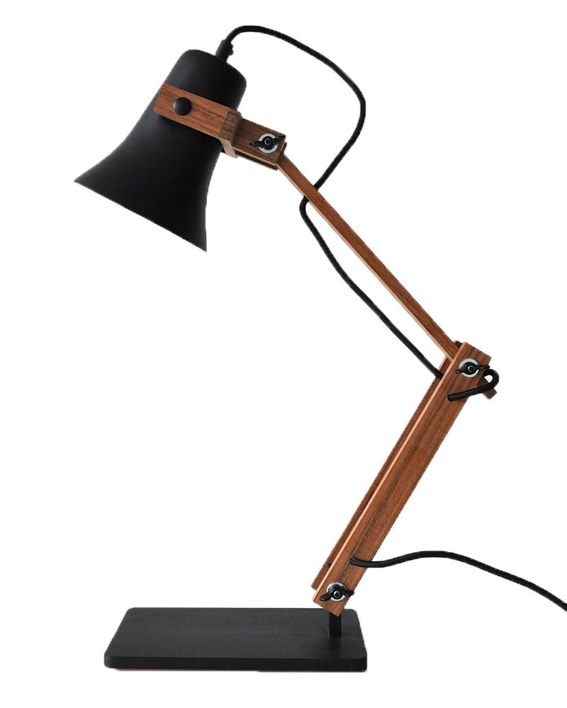 Bureualamp Trumpet Black edition Van M.OSS design bij Stockhome.nl