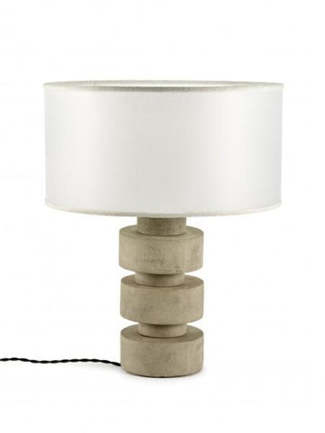 Lamp Object Disc Beton