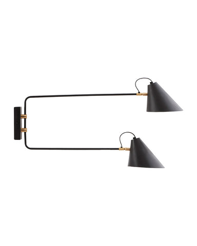 Wandlamp Club Twin - In augustus leverbaar