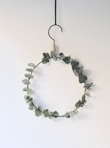 hanger stockhome groen wreath