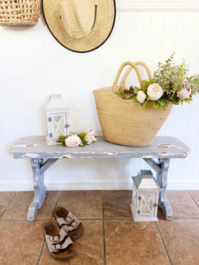 Farmhouse distressed bench