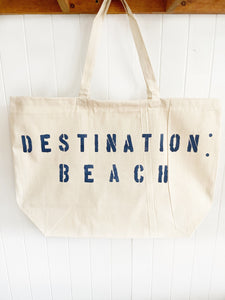 DESTINATION over sized tote
