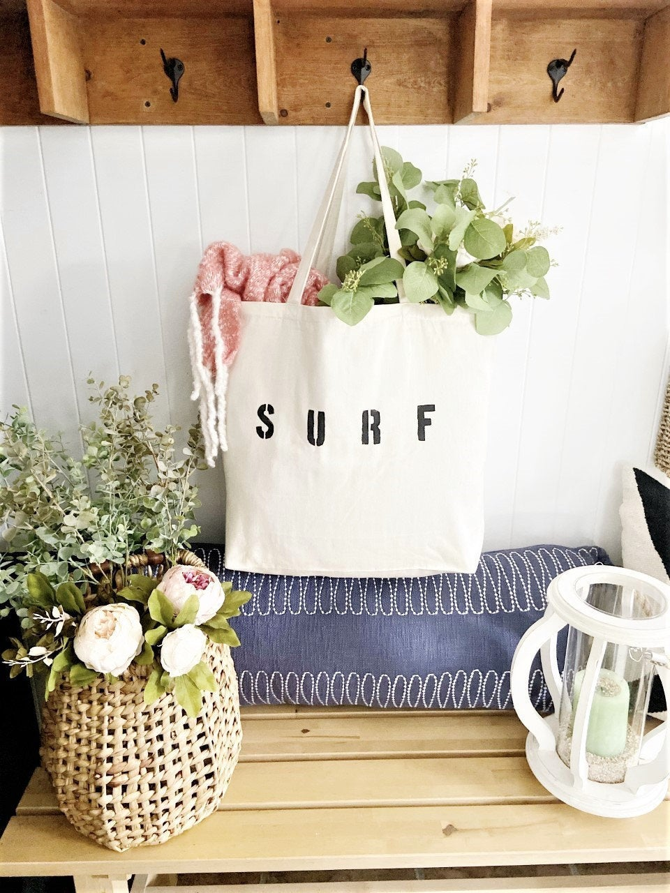 SURF over sized tote