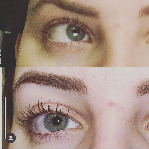 Recension av lash och brow lift