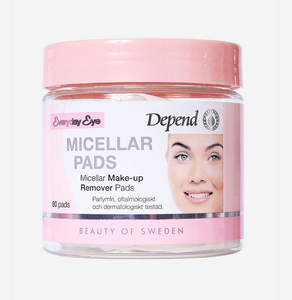 Depend Micellar Make-up Removal Pads