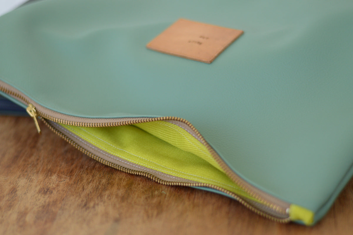 Oversized Clutch / Laptop Sleeve / Macbook Sleeve / Large Clutch / Available in 6 colors