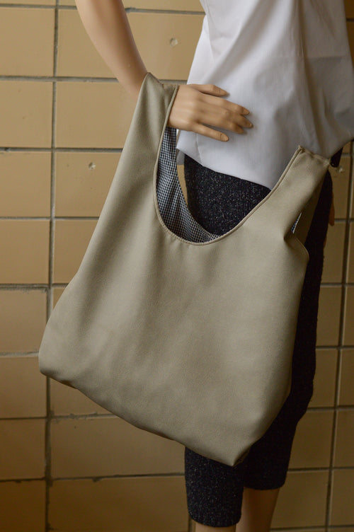 Pewter Market Bag