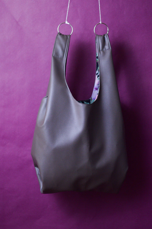 Chocolate Market Bag | Ready to Ship