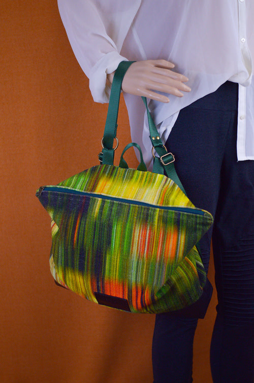 Bright Tricolor Backpack | Ready To Ship