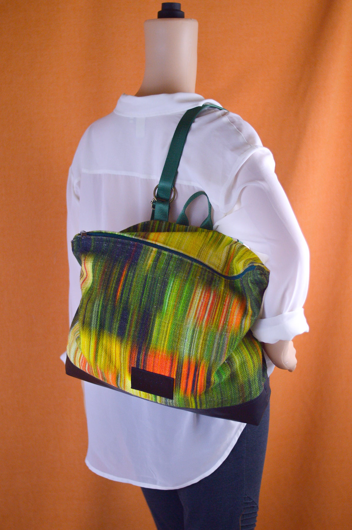 Neon Sunshine Conversion Backpack and Handbag | Sally Ann's Signature Bag