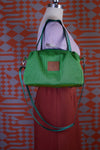 Neon Green Forest Sustainable Bag | Quinn Handbag