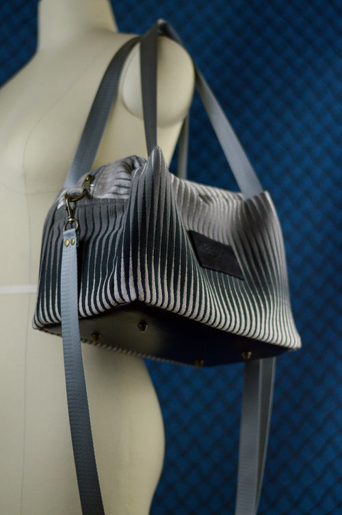 Nova Star | Silver Gradient Sustainable Fabric Bag | Quinn Handbag