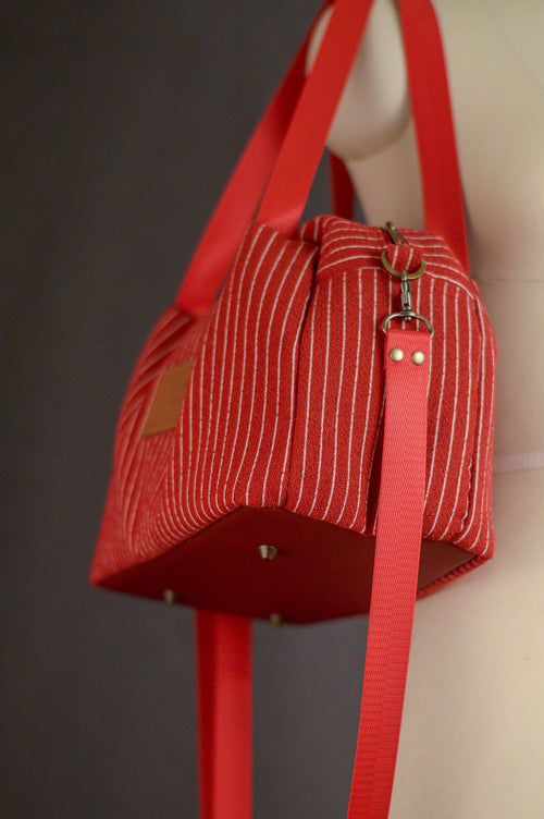 Candy Apple | Sustainable Fabric Handbag | Quinn Handbag