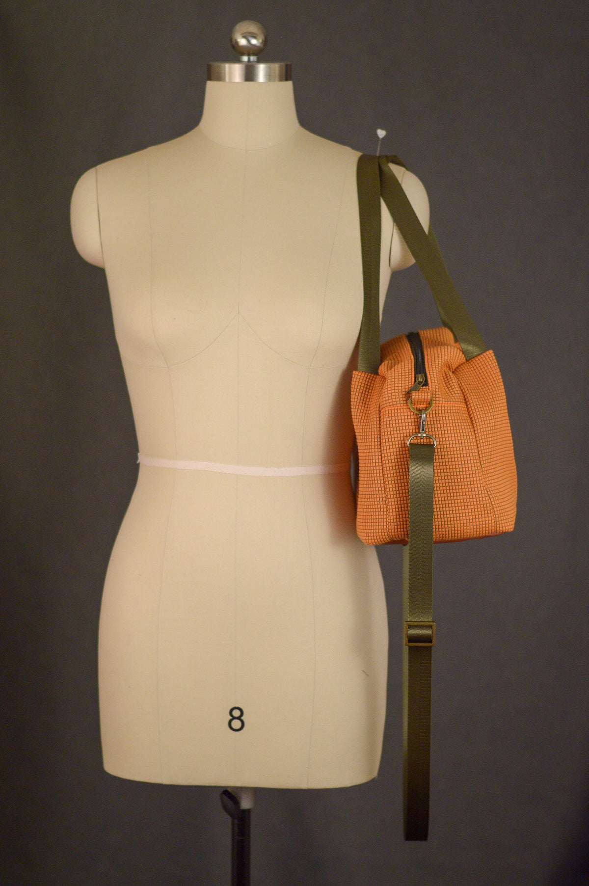 Sunburst Orange | Sustainable Fabric Handbag | Quinn Handbag