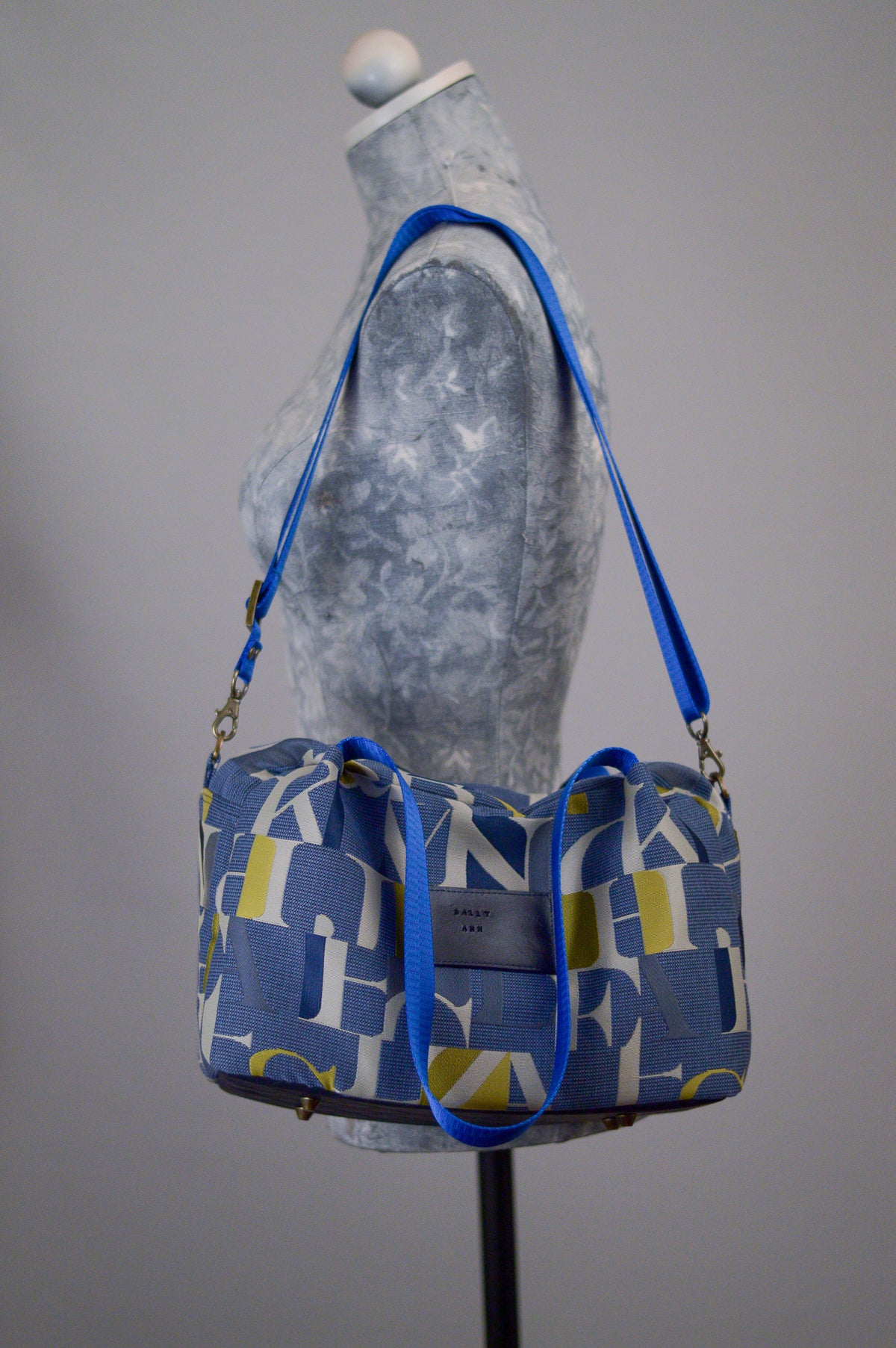 Alpha Mosaic | Sustainable Fabric Handbag | Quinn Handbag