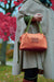 Sunburst Orange Quinn Handbag