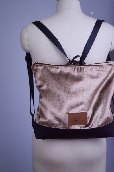 Copperhead Conversion Backpack and Handbag | Sally Ann's Signature Bag