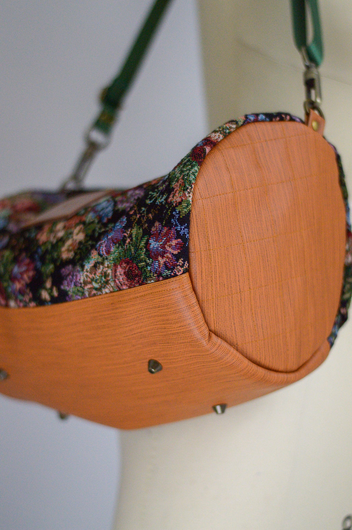 Winter Floral Mini Duffel Bag | Limited Edition