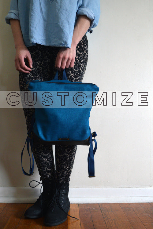Custom Fabric Upper Backpack | Made to Order