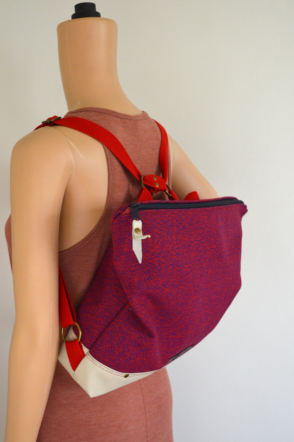 Fully Customized Fabric Upper Backpack