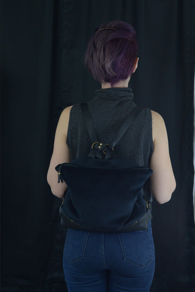 Black Backpack | Made To Order