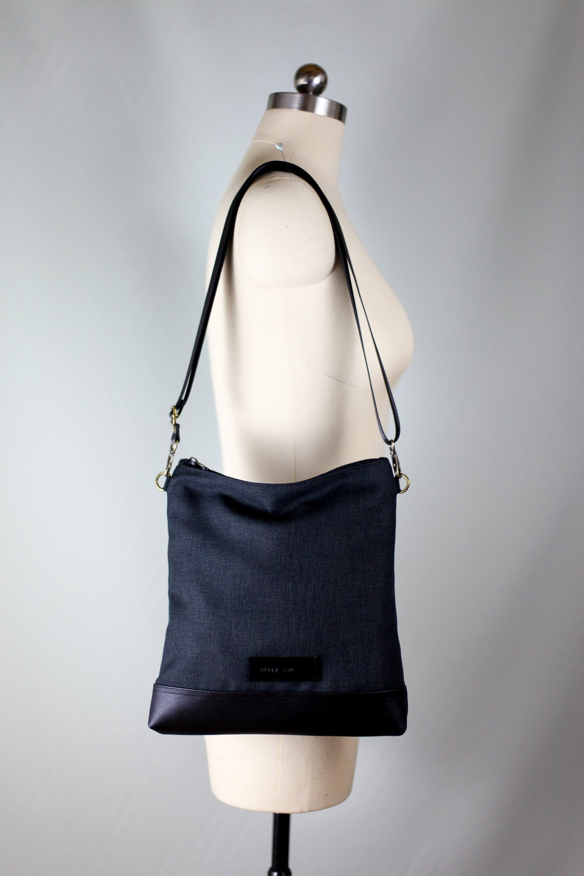 Black City Satchel | Small Bag