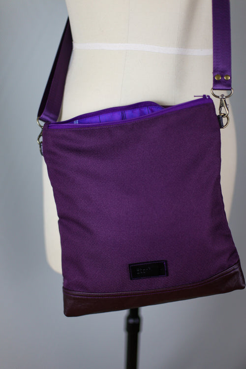 Purple City Satchel | Small Bag