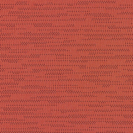 Swatch | Hem Stitch in Campfire | Performance Fabric